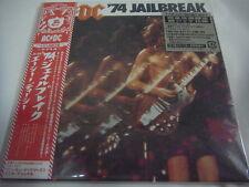 AC/DC-'74 Jailbreak JAPAN Mini LP CD PROMO w/OBI Iron Maiden Scorpions Geordie