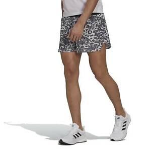 adidas Adizero Men's Split Running Shorts, Grey