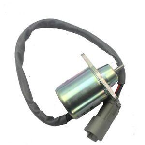 12v diesel engine fuel stop solenoid 1503ES-12S5SUC11S 41-6383 for Yammar 4TNE88