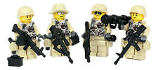 USA Marines Squad of Minifigures made with real LEGO® minifig parts