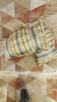 Eastern Accents Hand Crafted Throw Pillow Set, 2 pieces, 11 x 20