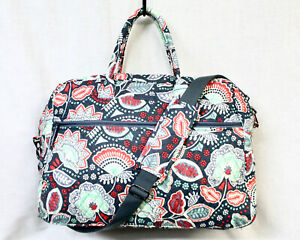 VERA BRADLEY Grand Traveler Carry On Travel Weekender Duffle Bag Nomadic Floral