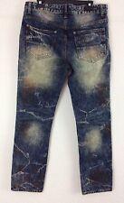 Men's Distressed Denim Jeans Sz 30X30 Slim Fit CJ Black Premium Label NWT (r12)