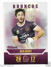 2017 NRL Traders Parallel Special (PS004) Ben HUNT Broncos