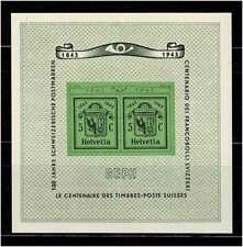 Schweiz 1945 Genfer-Block, Nr. Bl. 10 postfrisch **