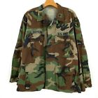 Vintage US Army Colonel Camo Military Medical Command Jacket Size Medium Short