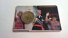 Nederland 2014 Coincard 2 Euro Koningsdubbelportret UNC (Andere Versie,Niet KNM)