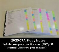 CPA Advanced Audit and Assurance HD study notes 2020 Sem 1