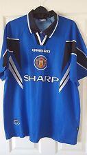 Mens Football Shirt - Manchester United - Third 1996-1997- Umbro Sharp - XL?