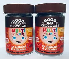 2 - Good Day Chocolate Complete Multi Vitamin For Kids 50 pieces 9/30/2021