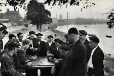 1950's Leningrad Russia Men Playing Dominoes Photo Art By Henri Cartier-Bresson