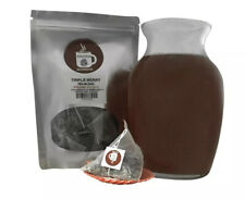 Triple Berry Pyramid Sachets Herbal Loose Leaf Tea ICED or HOT