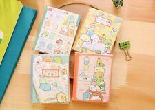Kawaii fold out Sumikko gurashi mini Memo Pad Notebook
