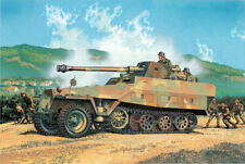 Sd.kfz.251/22 D W/pak 40 7.5cm Tank 1:35 Plastic Model Kit DRAGON MODELS