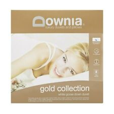 Downia Gold Collection White Goose Down Quilt Doona Cotton Casing King Size