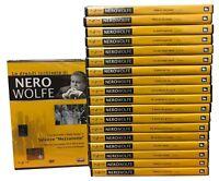 19 Dvd Rai Trade Lotto Stock NERO WOLFE stagione 1 + 2 serie completa nuovo 1969