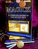 MAGICK: A Complete Course in Occultism Vol. 1 WITH TALISMAN Carl Nagel Spells
