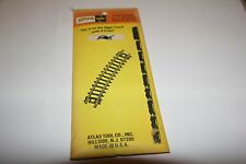 "ATLAS #2521 11"" RADIUS TRACK 1/2 SECTION 6 PACK  NEW STORE STOCK"