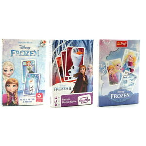 Disney Frozen Playing Cards. Black Peter & Memo or Black Peter (Old Maid).