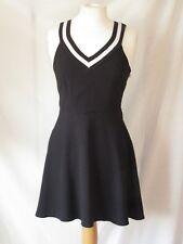 Primark Atmosphere Black Skater Dress size 8 Sleeveless Knee Length