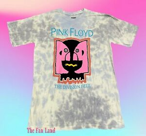 New Pink Floyd The Division Bell Tie Dye 1994 Throwback Vintage Men's T-Shirt