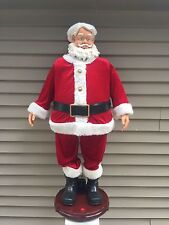 "Gemmy 50"" Tall Animated Singing Dancing SANTA CLAUS Christmas Decoration"