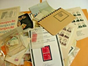 US, includes  BOB, PRECANCELS, Excellent accumulation of  Stamps & others