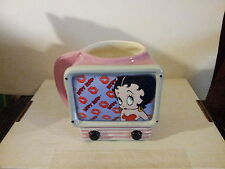 "Betty Boop Television Mug, 2000 King Features Syndicate ""Nice"""
