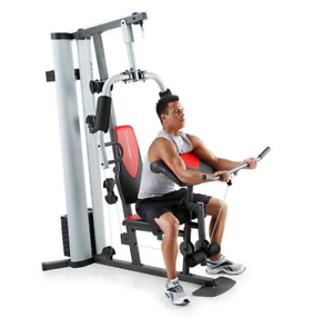 Weider Pro 6900 Home Gym System Chest Back Arms Workout