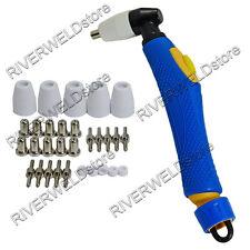 Esab PT-31 LG-40 20072 Plasma Cutter Torch Body & Tip Electrode Nozzle KIT 30PK