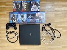 Sony PlayStation 4 Pro 1TB CUH-7016B mit 7 Spielen