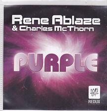 Rene Ablaze-Purple Promo cd single