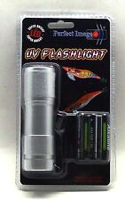 Perfect Image UV Flashlight Torch Charge Squid Jags for night fishing BRAND NEW