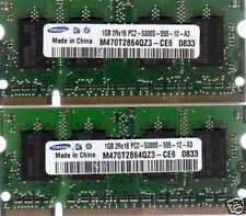 """NEW 2GB 2x 1GB Kit Apple MacBook 2.0GHz 13"""" A1181 DDR2 Laptop/Notebook Memory"""