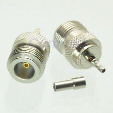 1pce N female jack crimp RG174 RG316 LMR100 RF connector