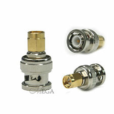 SMA-male to BNC-male SOCKET ADAPTOR for Radio connect to Antenna (102166)