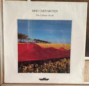 Mind Over Matter-The Colours Of Life Lp 1988 NM Electronic New Age