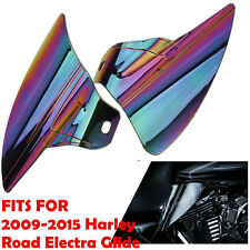 Iridium Reflective Saddle Shield Air Heat Deflector For Harley Touring 95-15
