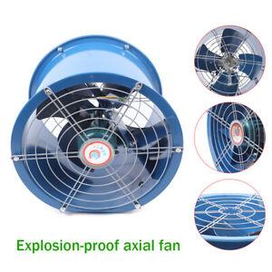 16'' 5400m³/H Ventilator Explosion Proof Axial Fan Extractor Fan Blower 71db New