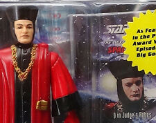 TNG Q In Judges Robes 94 Star Trek Next Gen Sealed Playmates Mint Action Figure