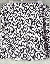 Torrid Women's Skirt Black White Size 3