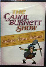 The Carol Burnett Show Exclusive Bonus Features! 2 Disc DVD Disc Brand New
