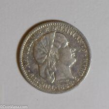 Haiti 1882 5 Centimes silver  H0103 combine shipping