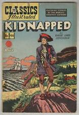 Classics Illustrated #46 G Kidnapped