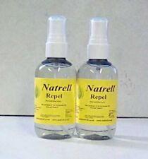 2 Bottles Insect Repellent Spray,Lemongrass,TeaTree,Neem,Pocket Size,100ml,oils