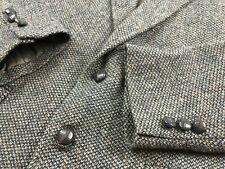VTG Wentworth WOOL Tweed Barleycorn Sport Coat Jacket Mens 44 R Suit Blazer