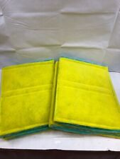 "Green/Yellow Intake Filter Panel Internal Wire 22""X70"" - HOTT DEALS - LOT OF 2"