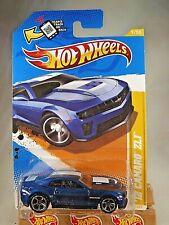 2012 Hot Wheels #9 New Models 9/50 '12 Camaro Zl1 Dark Blue Variation w/Mc5 Sp