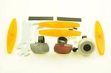 KIT di sicurezza bici, set completo di riflettore Anteriore, Posteriore & WHEELS & BELL impostare lo strumento libero