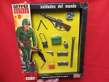 1964 VINTAGE GI JOE GEYPERMAN  JOEZETA:  1975  SOLDADOS DEL MUNDO    BOXED